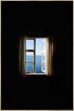 Ocean View Poster in Aluminium Frame
