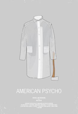 American Psycho Aluminium Print