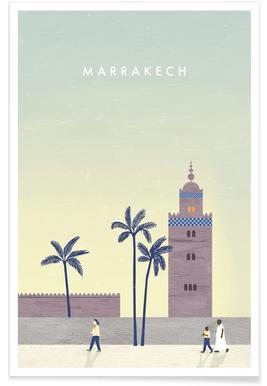 Retro-Marrakesch -Poster