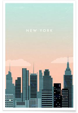 Retro-New York -Poster