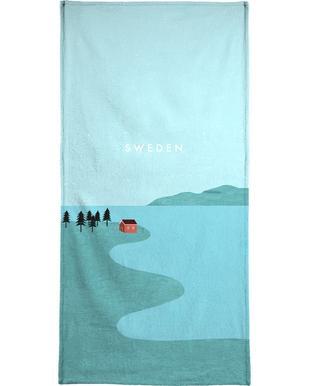 Schweden -Handtuch
