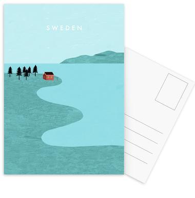 Schweden cartes postales