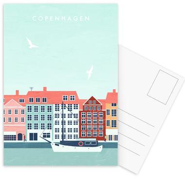 Kopenhagen cartes postales