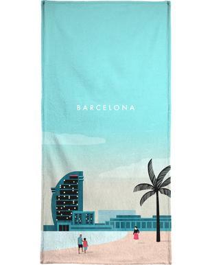 Barcelona -Handtuch
