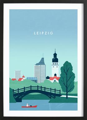 Leipzig Framed Print