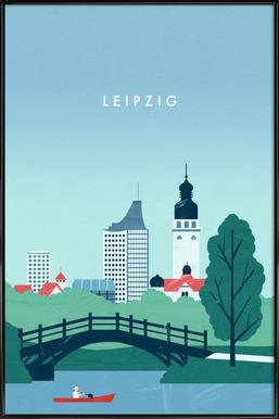 Leipzig Framed Poster