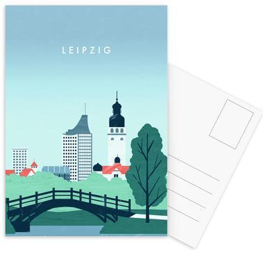 Leipzig Postcard Set