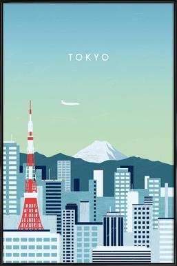 Tokyo Framed Poster