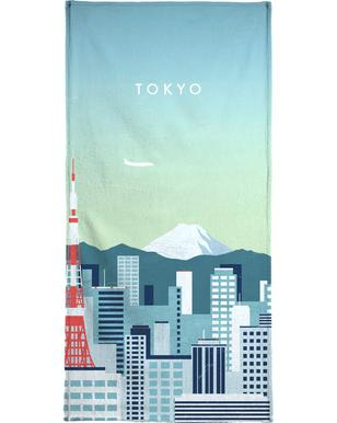 Tokyo Beach Towel