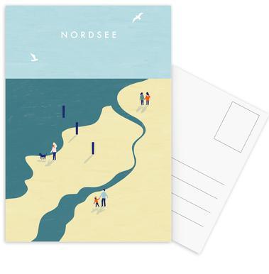 Nordsee Postcard Set