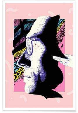 Cyborg Art Plakat