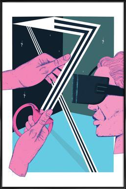VR Temptation affiche encadrée