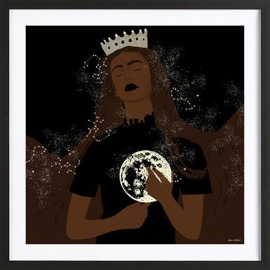 The Moon Queen ingelijste print