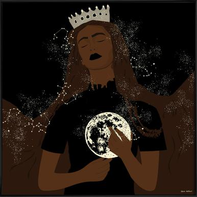 The Moon Queen ingelijste poster