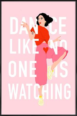 Dance Like Framed Poster