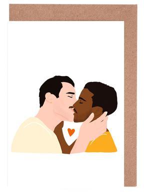 Embrassez qui vous voudrez II Greeting Card Set