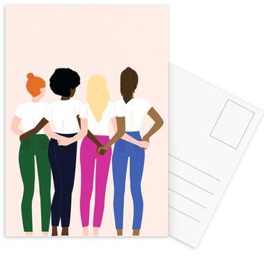 I Got Your Back Postcard Set