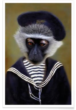 The Sad Monkey affiche