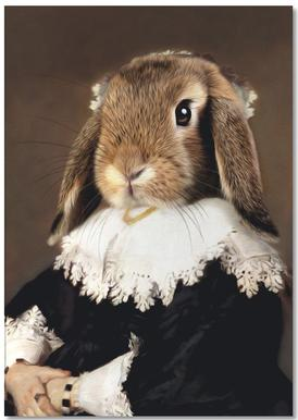 Miss Bunny Rabbit bloc-notes