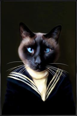 Dorus the Sailor affiche encadrée