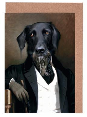 Einstein Beard cartes de vœux