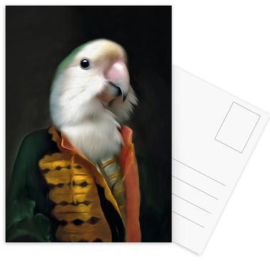 Papagaai Daan Postcard Set