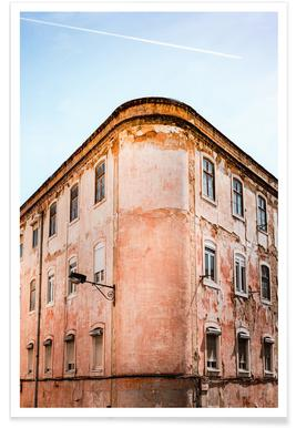 Shabby Chic Building poster