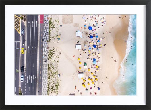 Rio by @andremohallem ingelijste print