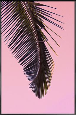 Tropicana Pink by @BineArnold -Bild mit Kunststoffrahmen