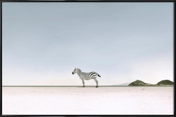 Lost in the Landscape by @ledart Framed Poster