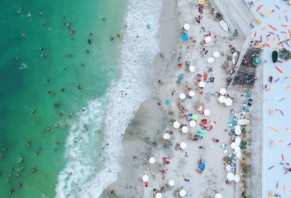 Punta Hermosa by @Kateclarkeph -Acrylglasbild