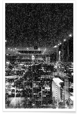Rainy Megalopolis by @tungsxx -Poster