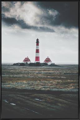 Beacon Beckoning by @bokehm0n Framed Poster