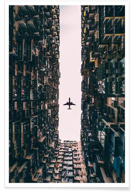 Airplane Photograph Poster
