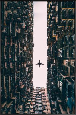 Watch It Soar by Kevin Cho ingelijste poster