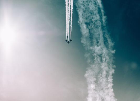 Squadron of the Skies by Jonas Peschel canvas doek