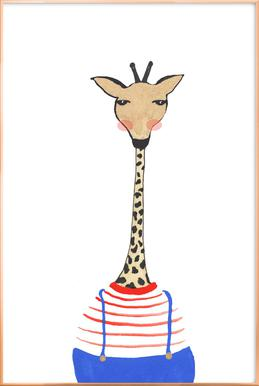 Giraffe with Clothes