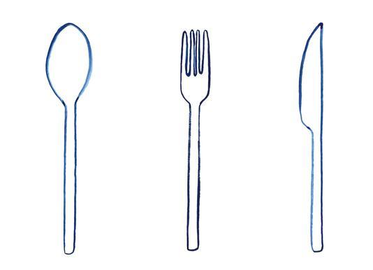 Kitchen Objects Vol.1 -Leinwandbild