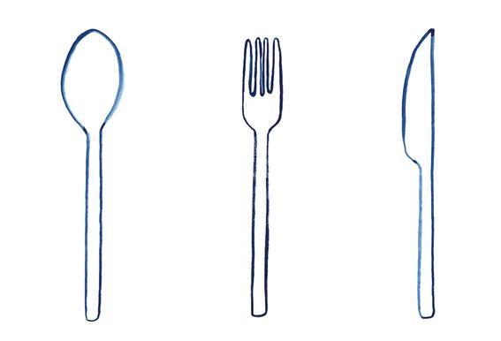 Kitchen Objects Vol.1 tableau en verre