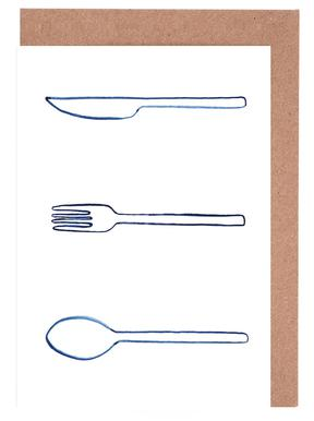 Kitchen Objects Vol.1 -Grußkarten-Set