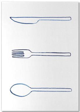 Kitchen Objects Vol.1 -Notizblock