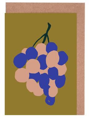 Joyful Fruits - Grapes cartes de vœux