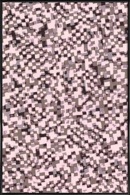 Sahkyi Black affiche encadrée