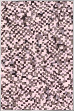 Sahkyi Black -Poster im Alurahmen