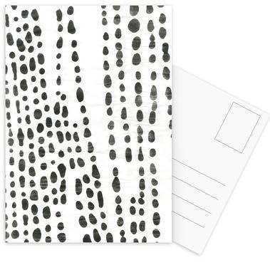Organical Texture Postcard Set