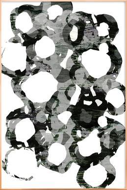 Paper Study I Poster in Aluminium Frame