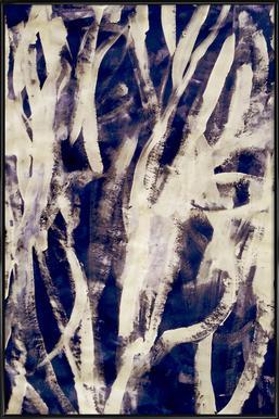 Rakugaki -Bild mit Kunststoffrahmen