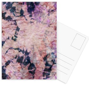 Textile Study Rosé -Postkartenset
