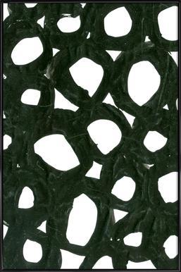 Aioen -Bild mit Kunststoffrahmen