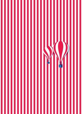 High Balloon canvas doek